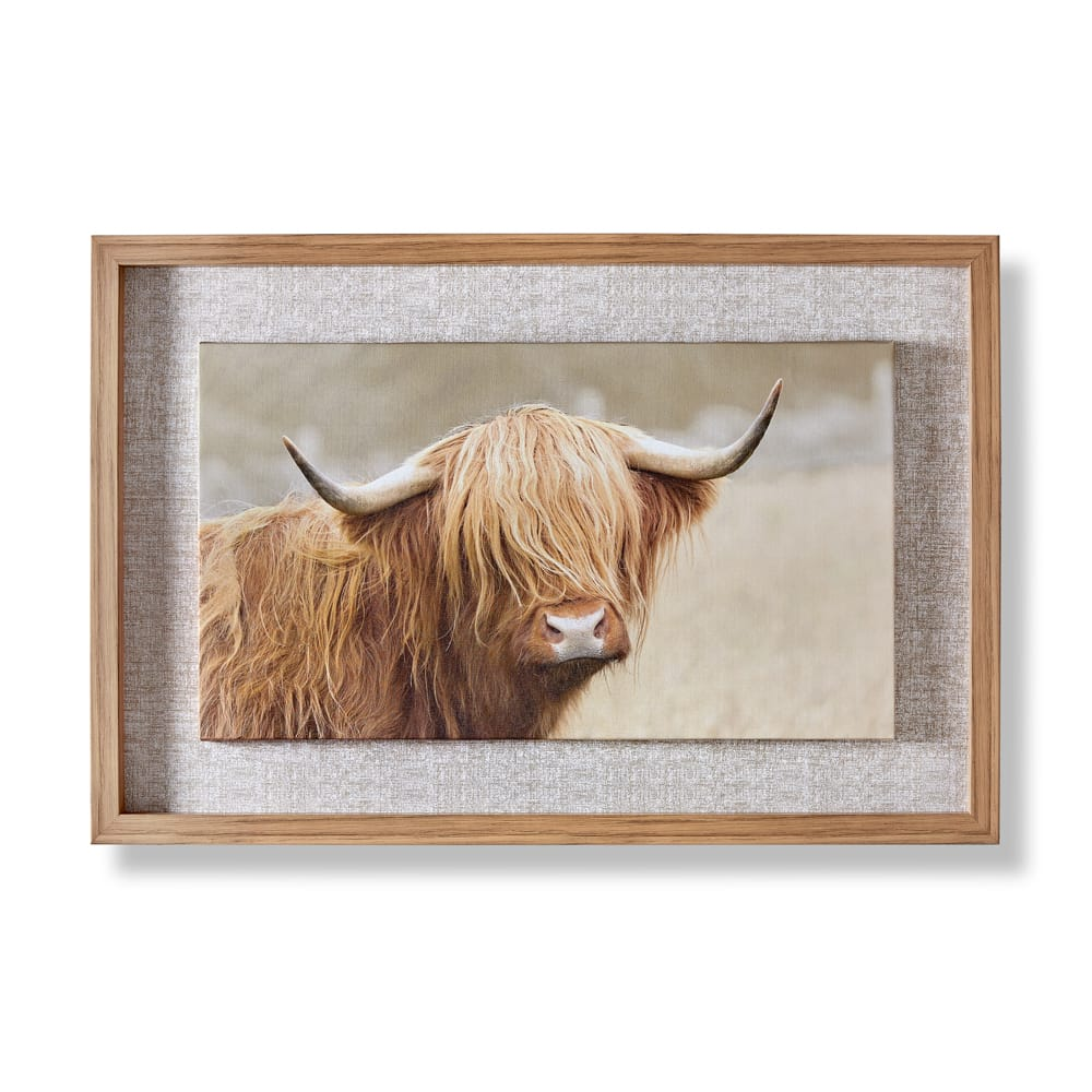 Clyde Framed Canvas, , wallpaperIT