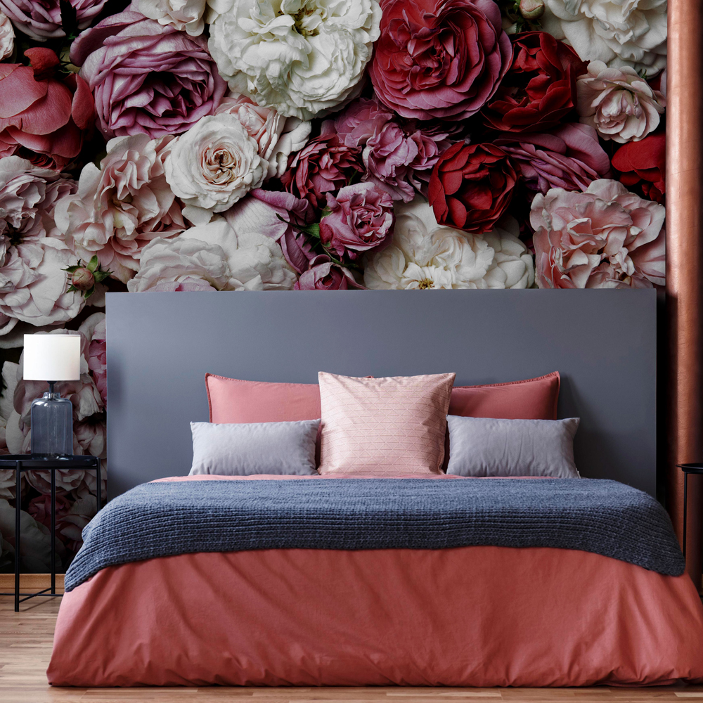 Bouquet Vintage Wall Mural, , wallpaperIT