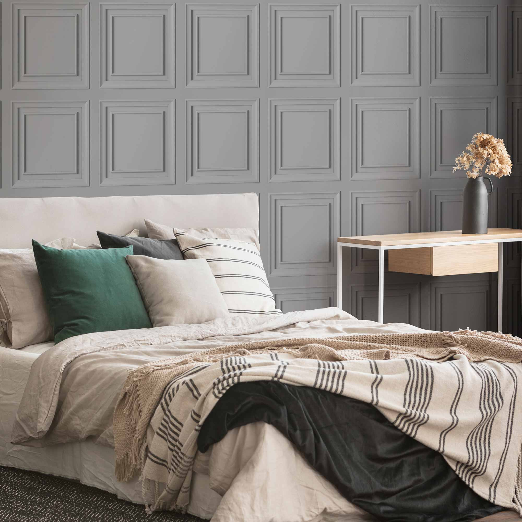 Wood Panel Grey Wallpaper, , wallpaperIT