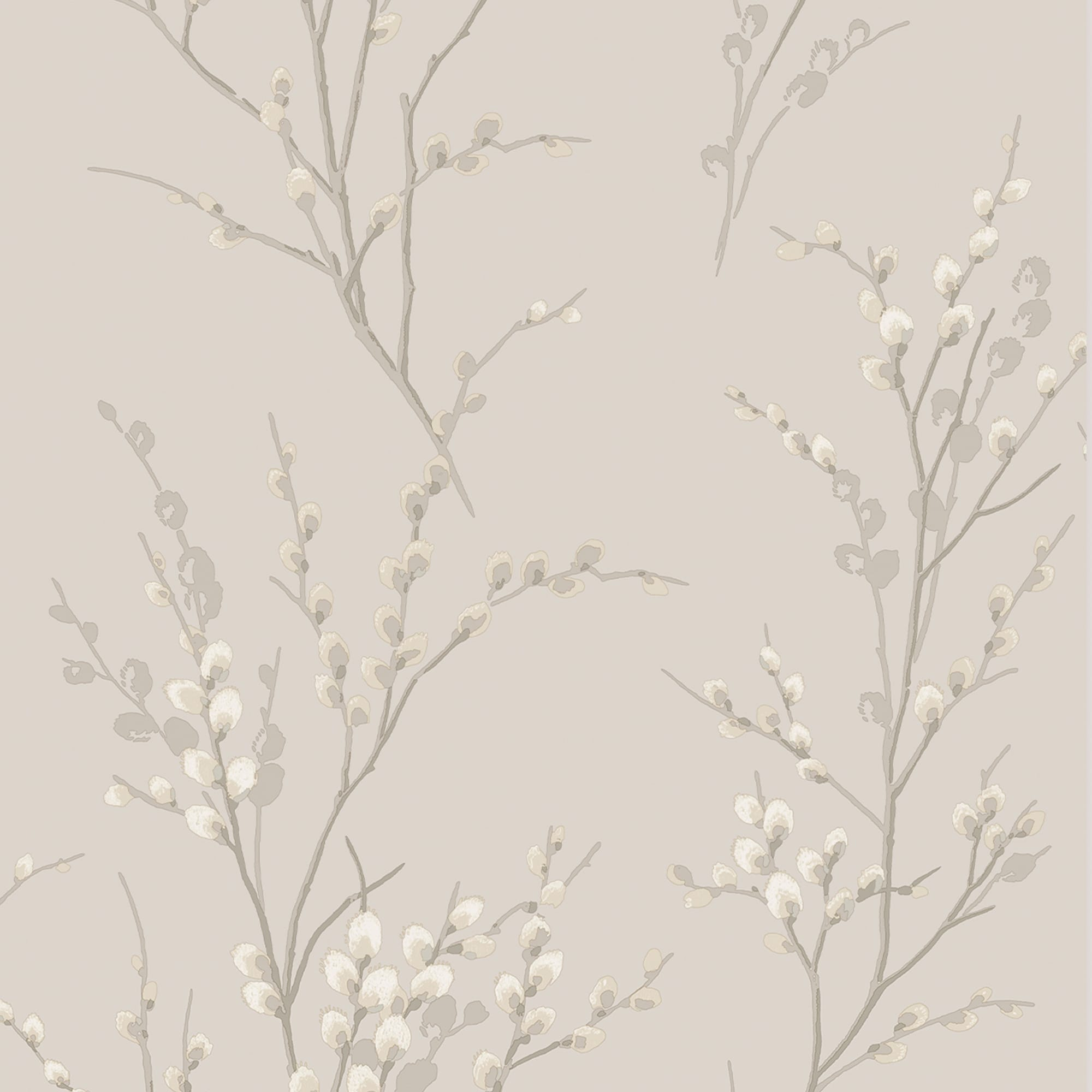 Pussy Willow Dove Grey Wallpaper, , wallpaperIT