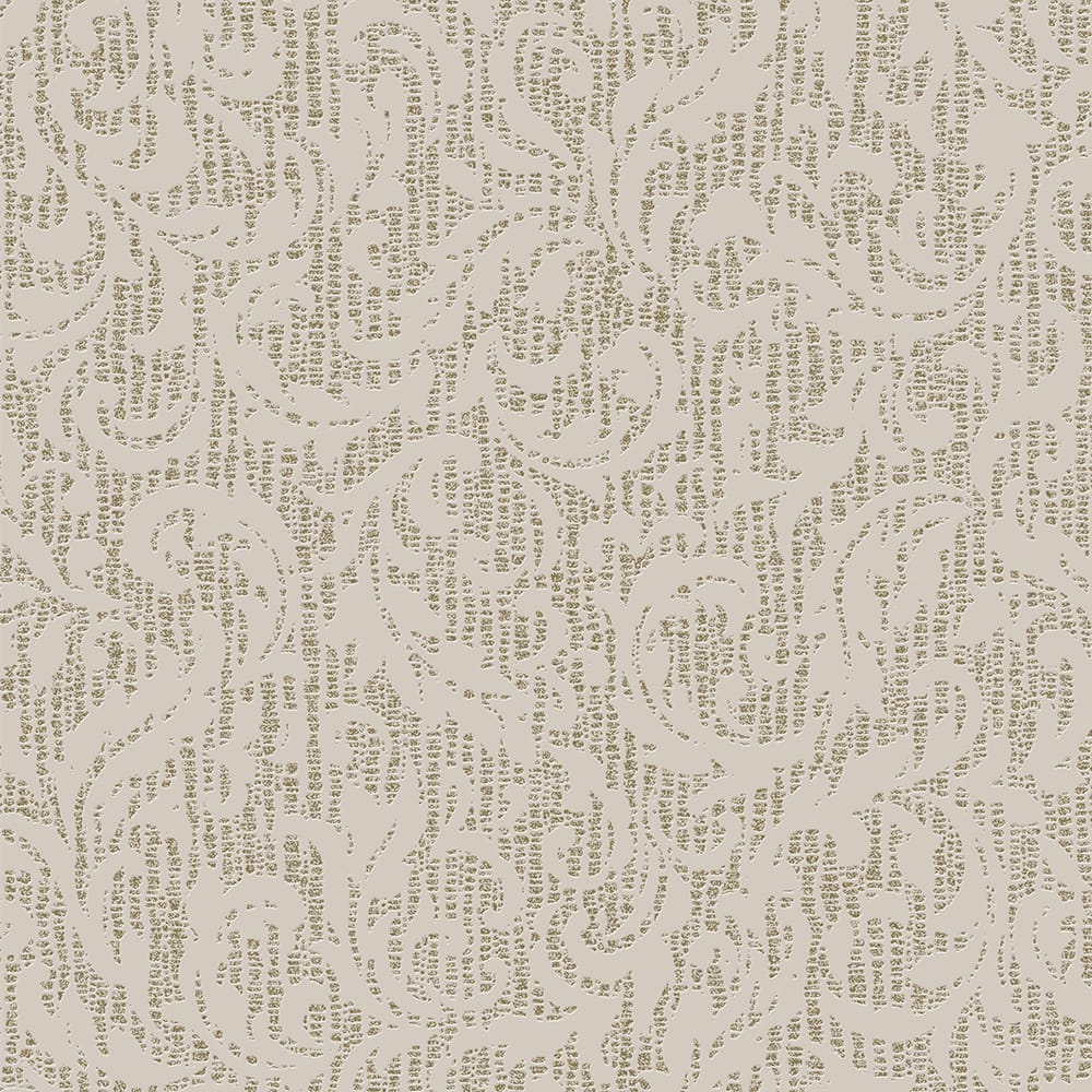 Cashmere Cream and Gold Wallpaper, , wallpaperIT