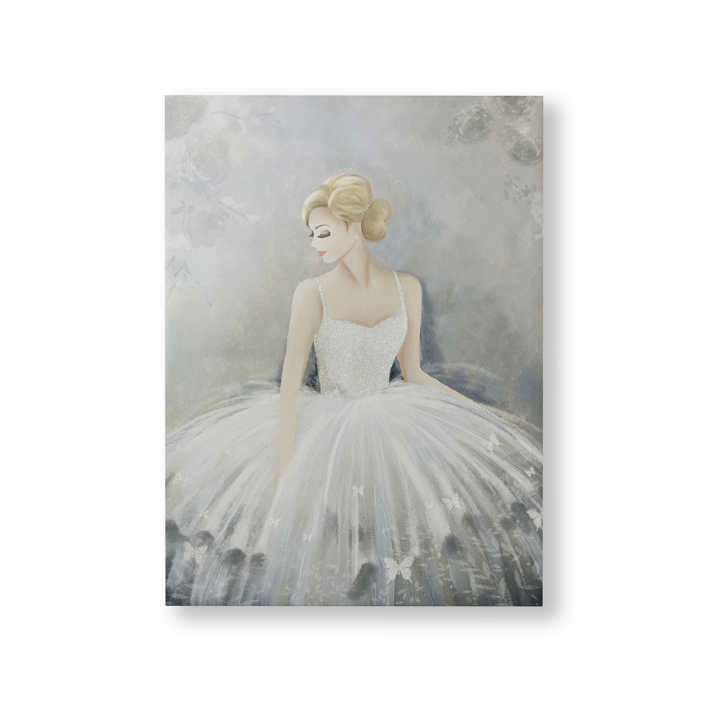 Beautiful Ballerina Canvas Wall Art, , wallpaperIT
