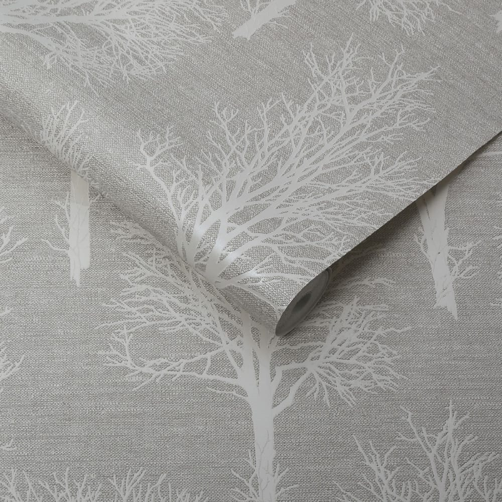 Landscape Taupe Wallpaper