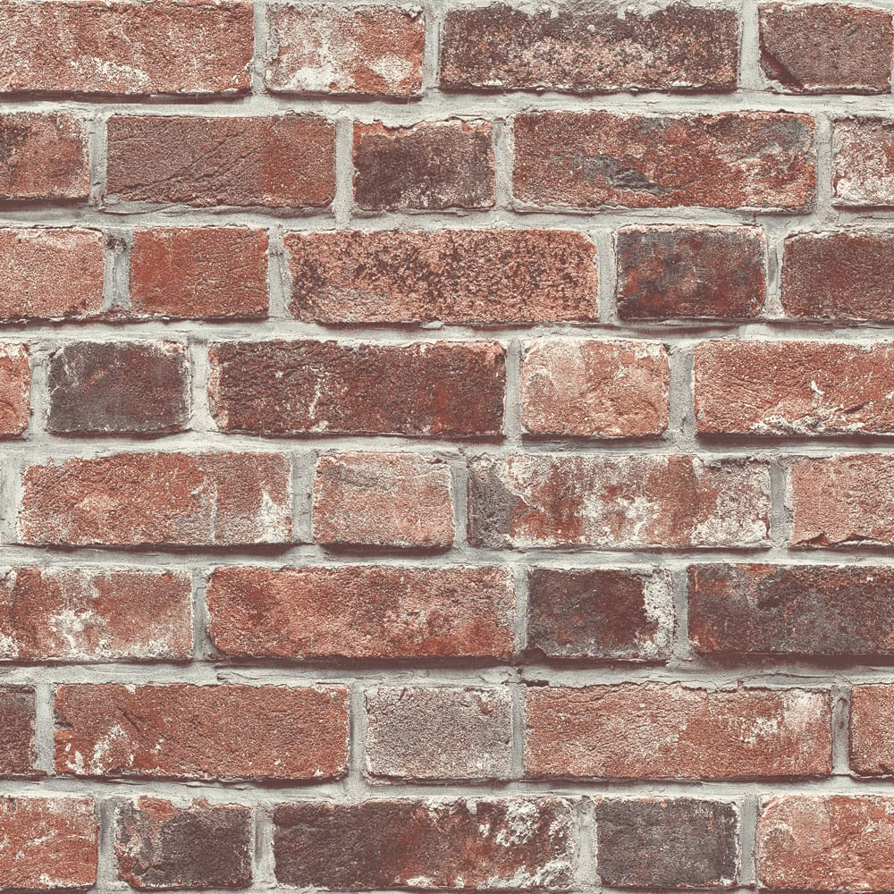 Transform Brick Red Wallpaper, , wallpaperIT