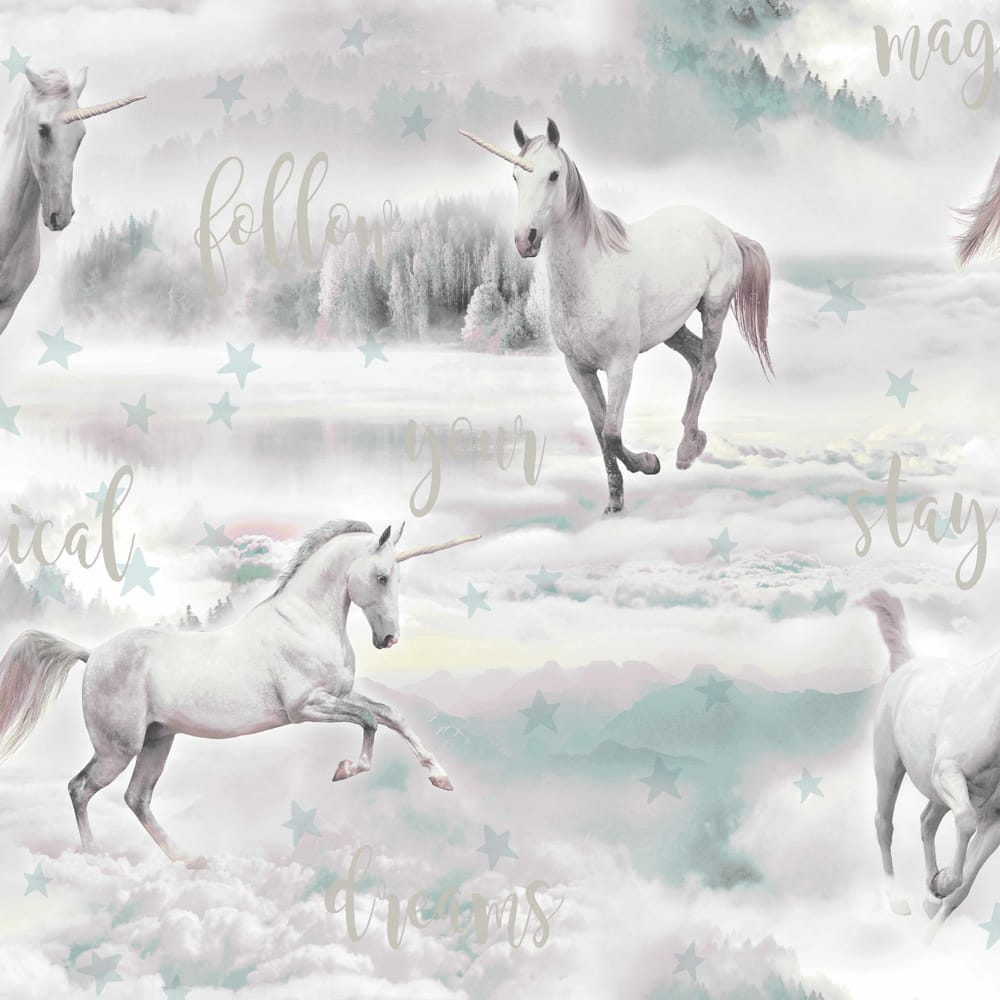 Unicorn Dreamland Wallpaper, , wallpaperIT