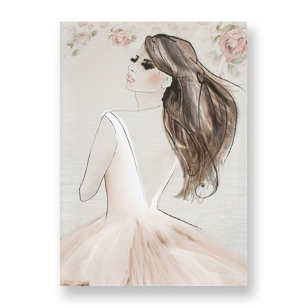Elizabeth Printed Canvas Wall Art, , wallpaperIT