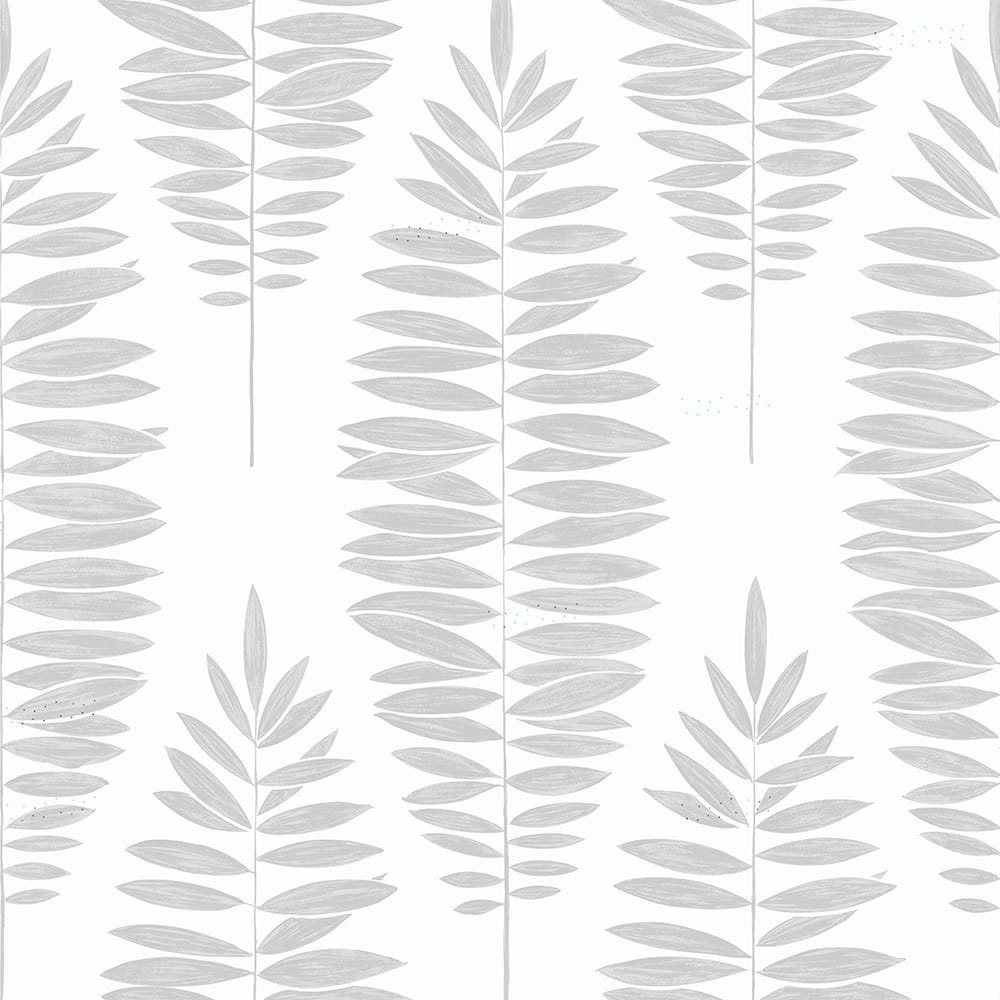 Lucia White & Silver Wallpaper, , wallpaperIT
