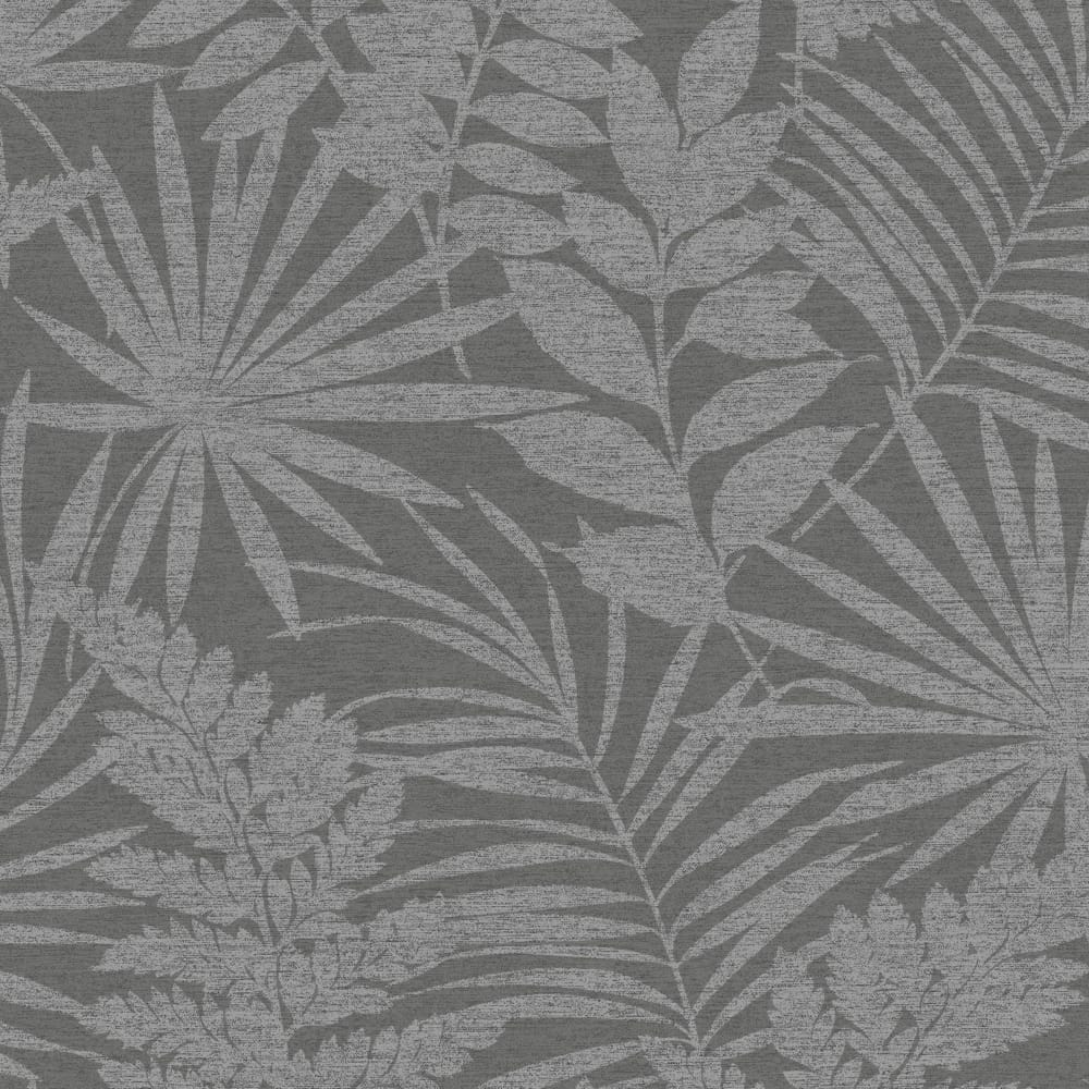 Fenne Grey Multi Forest Foliage Leaf Wallpaper, , wallpaperIT